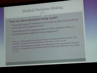 How to do MEDIKAL DECISION MAKING? Ein Vortrag zum Thema ...