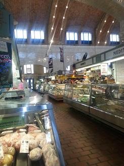 Im Westside Market - einer alten Markthalle mit vielen verschiedenen Ständen